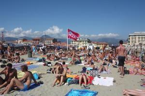 Viareggio pludmale