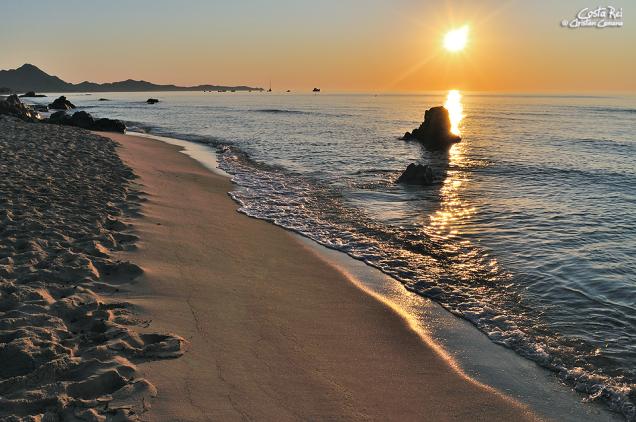 Fantastisks saullēkts Costa Rei