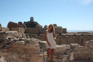 Nora, Feniķiešu pilsētas drupas