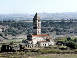 San Tirinita di Saccargia baznīca