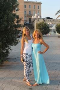 Bastione kopā ar Elīnu