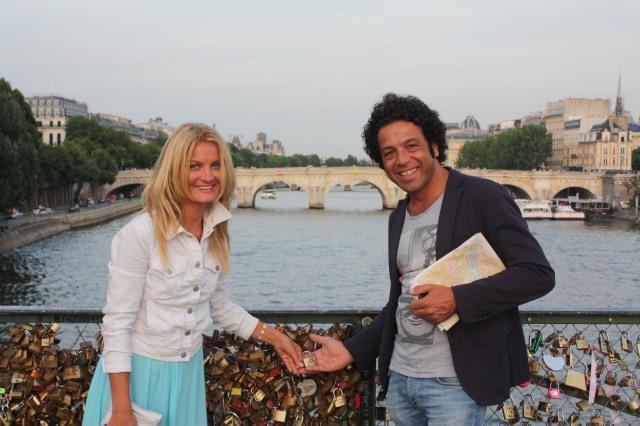 Parīze, Mīlestības tilts