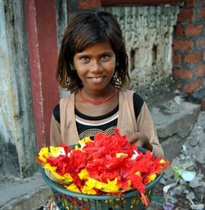 Indiešu meitenīte