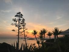 Saulriets Sardīnijā